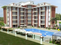 Недвижимость PALM  RESIDENCE (A BLOCK) в Анталии Турции